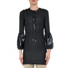 [해외]20FW[J.W앤더슨]Black Mini Dress with Puff Sleeves_439879
