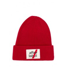[해외]20FW[AFTER LABEL]Beanie with Patch Logo_454513