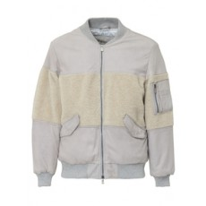 [WLG BY GIORGIO BRATO]Bomber Jacket with Insert_457601
