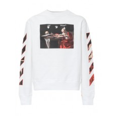 [해외]21SS[오프화이트]Sweatshirt with Caravaggio Print_465320