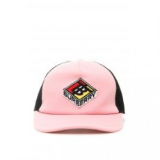 [해외]20FW[버버리]TRUCKER TB BASEBALL CAP _ 8021912 _ Pink/Black