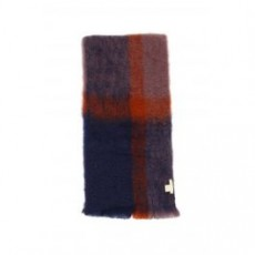 [해외][LOVAT AND GREEN]FADED CHECK SCARF _ FLEECY _ Blue/Purple/Brown