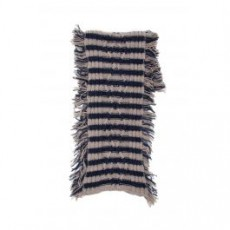 [해외][마시모 알바]BICOLOR STRIPED SCARF _ 16Z0KITZ1K0525 _ Blue/Beige/Grey