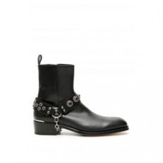 [해외][알렉산더맥퀸]HARNESS BOOTIES _ 576797 WHW82 _ Black