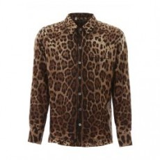 [해외]20SS[돌체앤가바나]LEOPARD PAJAMA SHIRT _ G5GY4T IS1B7 _ Brown/Black