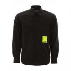[해외]20SS[MSGM]NEON LABEL SHIRT _ 2840ME06X 207001 _ Black