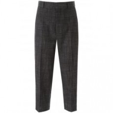 [해외]20SS[디올]CROPPED TROUSERS _ 021P48A3360 _ Black/Grey