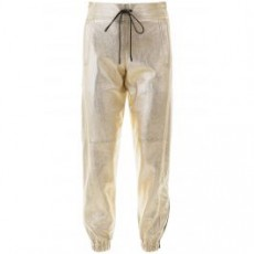 [해외]20SS[생로랑]GOLD LAMINATED LEATHER PANTS _ 548244 YC2CE _ Gold