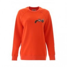 [기린]PRINTED SWEATSHIRT _ KWBA001F19007009 _ Orange