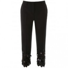 [해외]20SS[프라다]TROUSERS WITH MAXI SEQUINS _ P215DR 1WDX _ Black