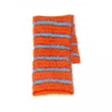 [해외][마르니]STRIPED SCARF _ SCMC0025Q0FU107 _ Orange/Red/Light blue