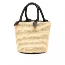 [해외][센시 스튜디오]WICKER BAG _ 003LOU _ Beige/Black