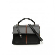 [해외][마르니]SMALL ATTACHE BAG _ BMMP0021Y0LV589 _ Black/Orange
