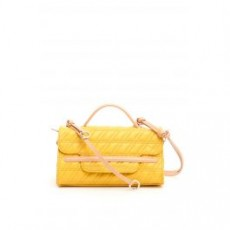 [해외][자넬라토]ZETA NINA S BAG _ 6661ZZ _ Yellow/Beige