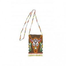 [해외][제시웨스턴]BEADED BAG _ BLARGESKULL _ White/Yellow/Green