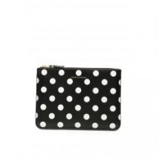 [해외]20FW[꼼데가르송월렛]POLKA DOTS POUCH _ SA5100PD _ Black/White