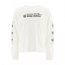[해외]20FW[핍스]SMOKEY FIRE SAFETY T-SHIRT _ PHFW20 N03 _ White/Black