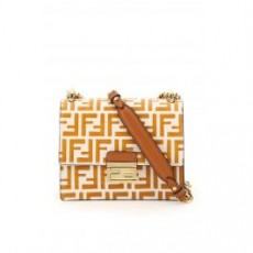 [해외]20FW[펜디]SMALL FF KAN U BAG _ 8M0417 A659 _ Brown/Orange/White