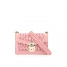 [해외]20FW[미우미우]MEDIUM MIU CONFIDENTIAL SHOULDER BAG _ 5BD083 V OOO N88 _ Pink