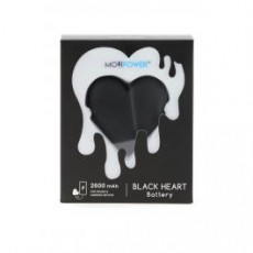 [해외]21SS[L10]BLACK HEART POWERBANK _ MOJIPOWER BLACK HEART _ Black