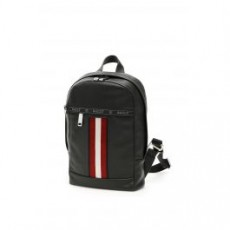 [해외]21SS[발리]TRAINSPOTTING HARI LEATHER BACKPACK _ 6227996 _ Black/White/Red