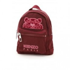[해외]21SS[겐조]MINI KAMPUS TIGER VELVET BACKPACK _ FA65SF301FQ6 _ Red