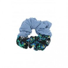 [해외]21SS[릭소런던]JASPER GARDEN PARTY PRINT SCRUNCHIE _ JASPER _ Blue/White/Green
