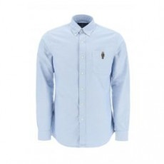 [해외]21SS[폴로 랄프로렌]OXFORD SHIRT BEAR EMBROIDERY _ 710815583 _ Light blue