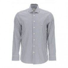 [해외]21SS[에뜨로]STRIPED SHIRT PEGASUS LOGO _ 1K526 6138 _ White/Blue