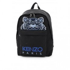 [겐조]TIGER BACKPACK _ FA65SF300F20 _ Black/Blue/Silver