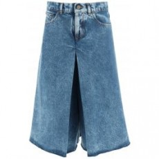 [메종마르지엘라]DENIM CULOTTE TROUSERS _ S51MA0446 S30744 _ Blue