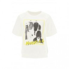 [MM6 메종마르지엘라]MARGIELA 6 REVERSE SWEATSHIRT _ S52GU0134 S25502 _ White/Black/Yellow