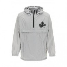 [해외]21SS[디스퀘어드]ANORAK D2 LEAF LOGO _ S74AM1162 S53817 _ Grey/Silver