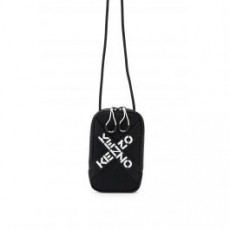 [해외]21SS[겐조]PHONE HOLDER CROSS LOGO _ FA65PM228F21 _ Black/White