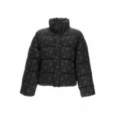 [해외]21SS[발렌시아가]BB PUFFER JACKET DIAGONAL LICENSE LOGO _ 642228 TJLF6 _ Black/Grey