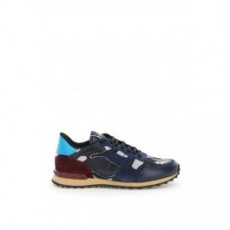 [해외]21SS[발렌티노]CAMOUFLAGE ROCKRUNNER SNEAKERS _ VY0S0723TCC _ Blue/Black/Purple