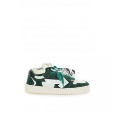 [해외]21SS[오프화이트]OFF COURT LOW SNEAKERS _ OMIA151S21LEA001 _ White/Green