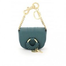 [해외]21SS[씨바이끌로에]HANA LEATHER MICRO BAG _ CHS21SK622977 _ Green/Blue