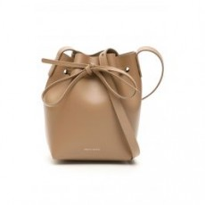 [해외]21SS[만수르가브리엘]MINI MINI BUCKET BAG _ HMM010CA _ Brown/Pink