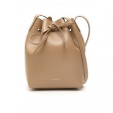 [해외]21SS[만수르가브리엘]MINI BUCKET BAG _ HMB004CA _ Brown/Pink