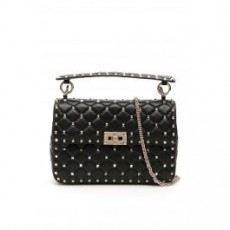 [해외]21SS[발렌티노]ROCKSTUD SPIKE MEDIUM BAG _ VW0B0122NAP _ Black