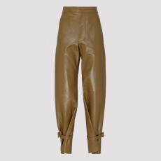 [해외]20SS[보테가베네타]Cappuccino leather pants_ 604518VKLA0-9721