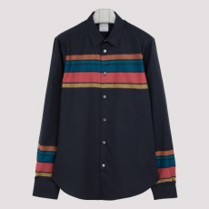 [해외]20FW[폴스미스]Gents striped slim shirt_ M1R006L.E01195-47 BLUE NAVY