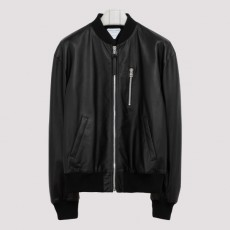[해외]20FW[보테가베네타]Black leather blouson jacket_ 626551.VKVL0-1000 BLACK