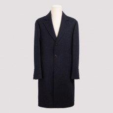 [해외]20FW[브루넬로쿠치넬리]Navy wool single breasted coat_ MN4679118-C091 NAVY/CAMEL