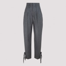 [해외]20FW[이자벨마랑 에뚜왈]Racomi gray flanel wool pants_ PA1819.20H026I-02AN ANTHRACITE