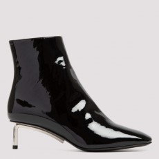[오프화이트]Off White Allen ankle boots_ OWID004F20LEA001-1000 BLACK NO