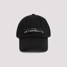 [베트멍]Vetements Logo Cap_ UE51CA200B-BLACK