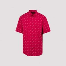 [발렌시아가]Balenciaga All Over Logo Shirt_ 534332.TBL96-5615 INTENSE PINK/