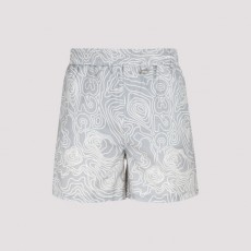 [032C]032c Nylon Swim Shorts_ SS21W2040-GREY
